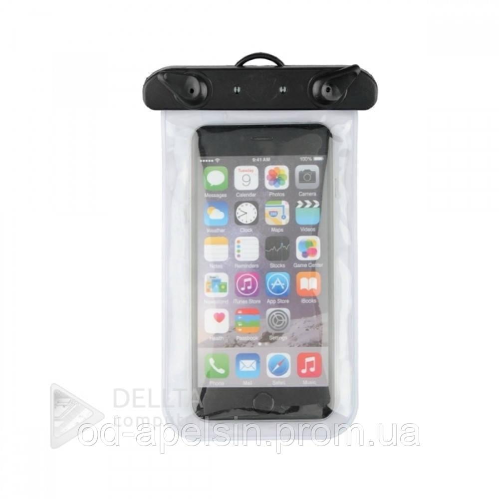 Сумка - чехол для телефона Waterproof Bag Case 3864 водонепроницаемая, бесцветная, с ремешком, Чехлы анти вода, Чехлы