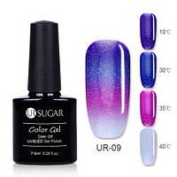 Термо гель-лак для ногтей маникюра термолак 7.5мл UR Sugar, UR-09