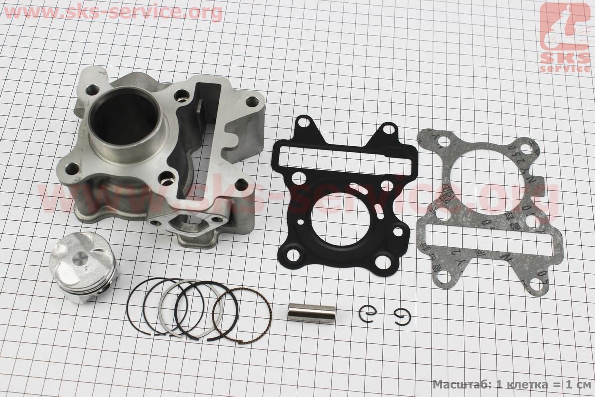Циліндр к-кт (цпг) Yamaha SA36J/VINO/GEAR 4T 49cc-38мм (палець 10мм) водяне охолодження на скутер