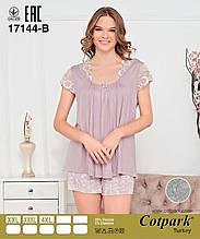 Пижама с шортами больших размеров, Cotpark
