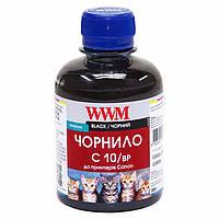 Чернила WWM CANON PG-510/512/PGI-520Bk/PGI-425PGBk (Black Pigmented) (C10/BP) 200г