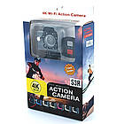 Экшн камера с пультом Dvr Sport S3R remote Wi Fi waterprof 4K, фото 5