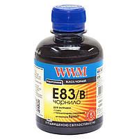 Чернила WWM EPSON Stylus Photo R270/P50/R290/RX615/T50/TX650 (Black) (E83/B) 200г