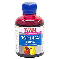 Чернила WWM EPSON Stylus Photo T50/P50/PX660 (Magenta) (E82/M) 200г
