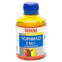 Чернила WWM EPSON Stylus Photo T50/P50/PX660 (Yellow) (E82/Y) 200г