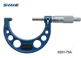 Микрометр Shahe 5201-75A 50-75 мм 0.01 мм (MK107)