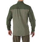 """Рубашка тактическая под бронежилет """"5.11 RAPID RESPONSE QUARTER ZIP"""", [190] TDU Green, фото 2"""