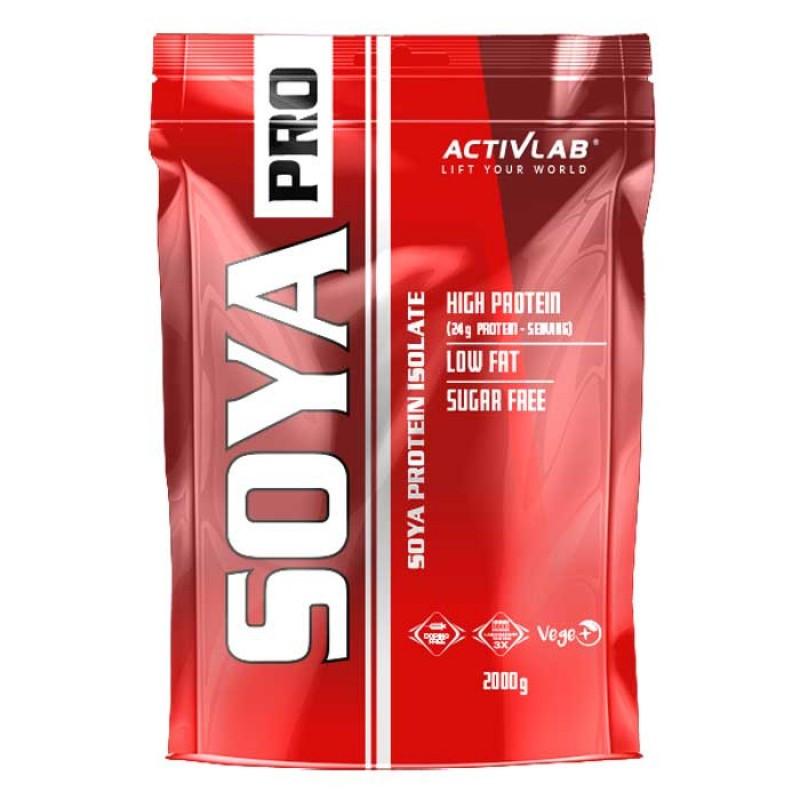 Протеин соевый ACTIVLAB SOJA PRO 2000 г Вкус : Шоколад