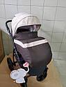 Детская коляска 2 в 1 Classik Len(Классик Лен) Victoria Gold Коричневый беж, фото 7