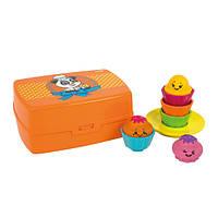 Tomy Развивающая игрушка-сортер «Веселые капкейки», фото 1