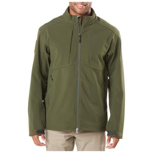 """Куртка тактическая для штормовой погоды """"5.11 SIERRA SOFTSHELL"""", [191] Moss"""