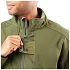 """Куртка тактическая для штормовой погоды """"5.11 SIERRA SOFTSHELL"""", [191] Moss, фото 3"""