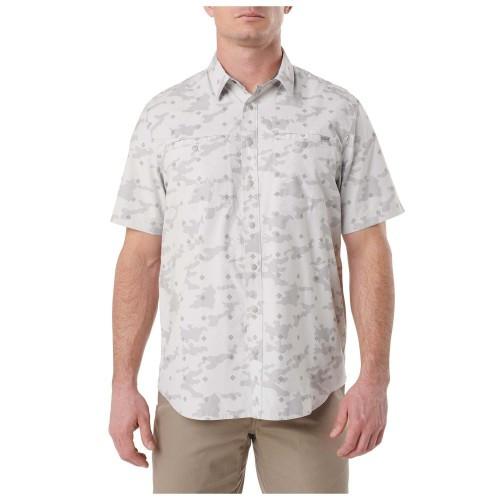 """Рубашка с коротким рукавом """"5.11 Crestline Camo Shirt"""", [257] Pebble"""