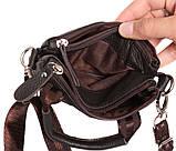 Мужская кожаная сумка с одной ручкой 300144, фото 6