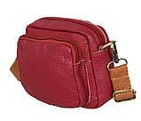 Мужская кожаная сумка на поясной ремень 301425, фото 2