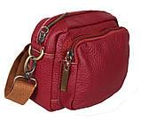 Мужская кожаная сумка на поясной ремень 301425, фото 3