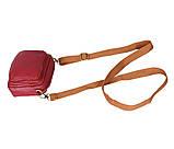 Мужская кожаная сумка на поясной ремень 301425, фото 5