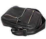 Стильная мужская сумка из натуральной кожи 300121, фото 6