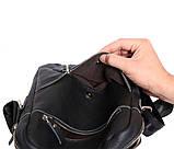Стильная мужская сумка из натуральной кожи 300121, фото 9