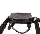 Мужская сумка компактного размера выполнена из натуральной кожи 300129, фото 8