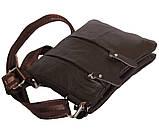 Мужская сумка из натуральной кожи через плечо 300132, фото 3