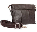 Горизонтальная кожаная сумка через плечо 300146, фото 4