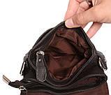 Горизонтальная кожаная сумка через плечо 300146, фото 8