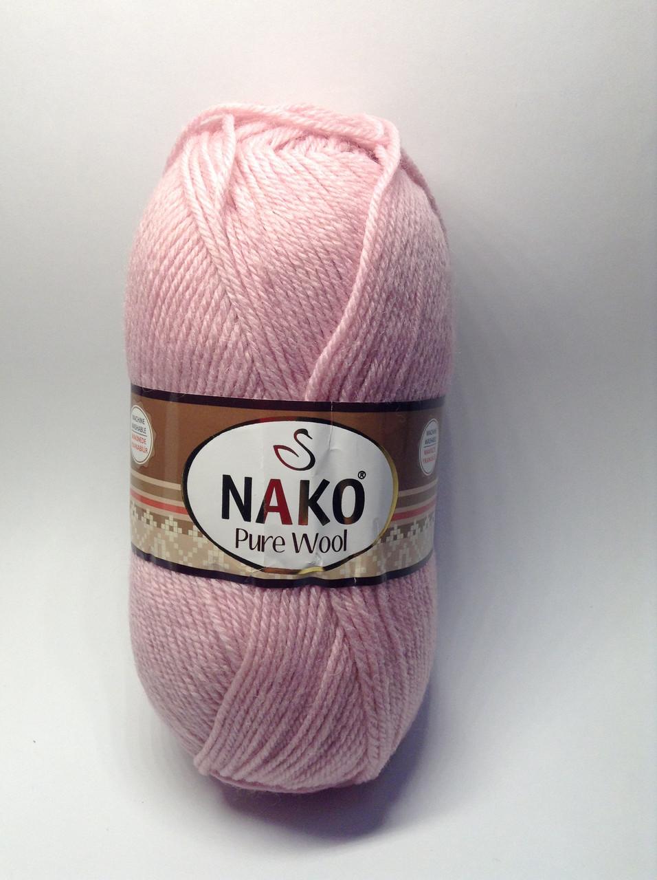 Пряжа nako pure wool