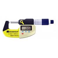 Микрометр цифровой Микротех МКЦ-25 IP65 (0-25 мм/0.001 мм; ±0,002; RS-232) Госреестр Украины №1988-95 (MK163)