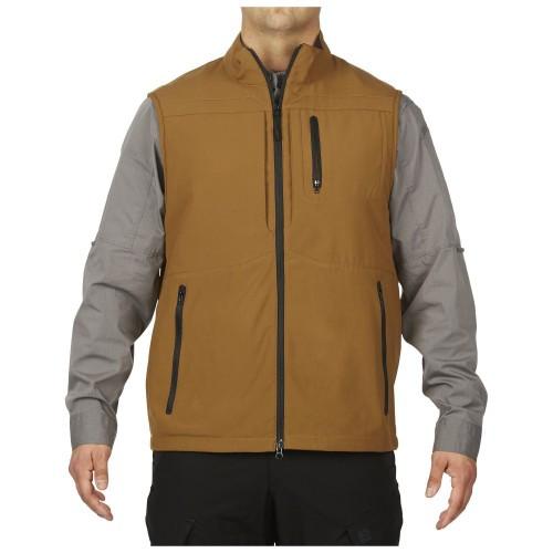 """Жилет тактический скрытого ношения """"5.11 Tactical Covert Vest"""", [116] Battle Brown"""