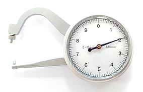 Толщиномер (стенкомер) индикаторный KM-422-101 (0-10 мм;±0,05 мм) (MK216)