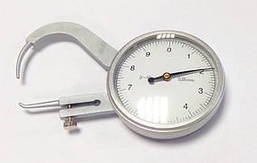 Толщиномер (стенкомер) индикаторный KM-422-105(0-10 мм;±0,05 мм) (MK217)