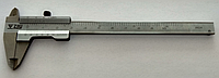 Штангенциркуль ZIIU мод.123 (0-100мм/0.05мм)металлический двухсторонний с глубиномером  Болгария (MK222)