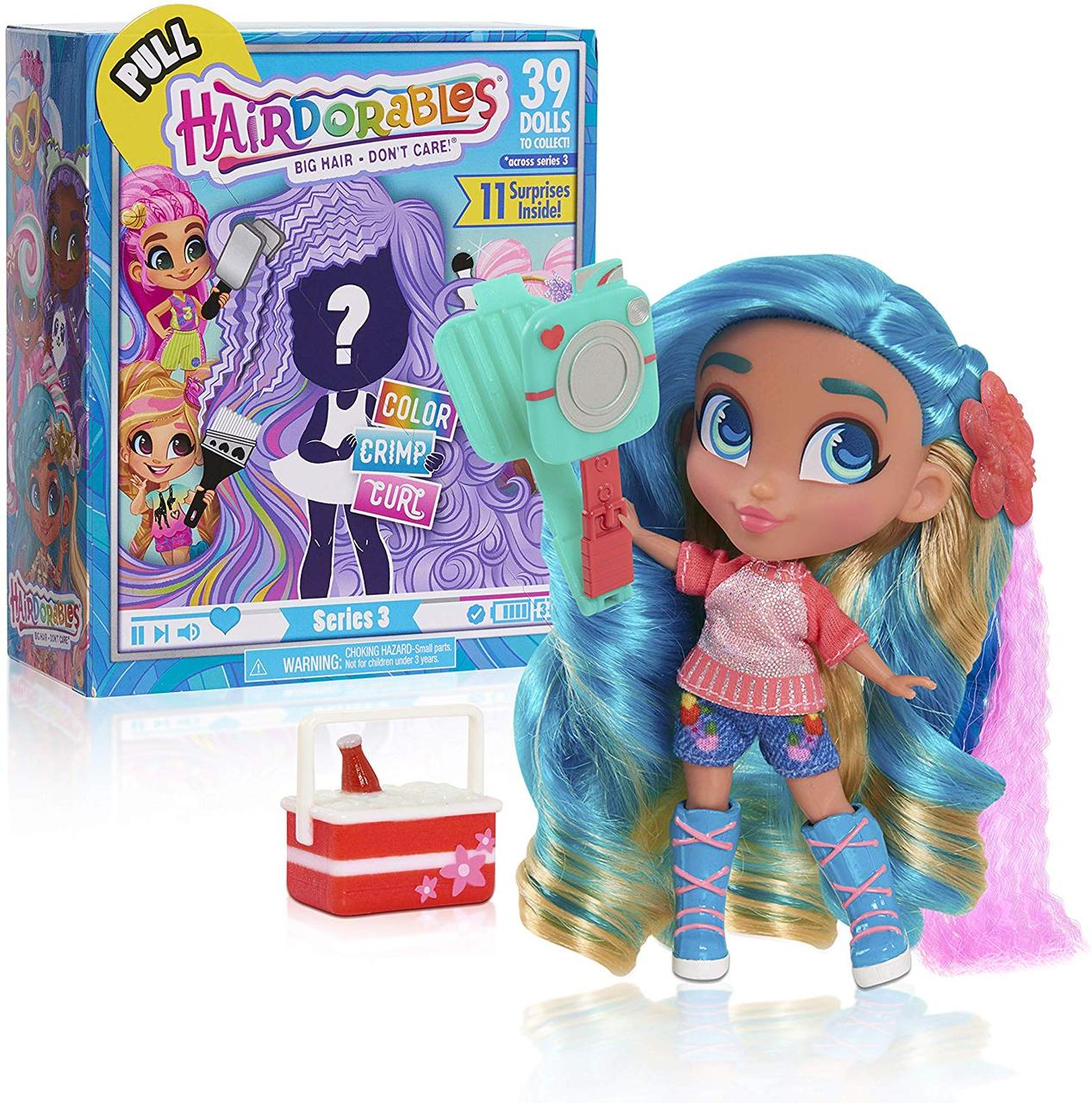 Куколки Хейрдораблес серия 3 / Hairdorables ‐ Collectible Surprise Dolls and Accessories Series 3