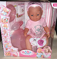 Кукла Пупс Baby Birth интерактивный, 9 функция и 10 аксессуаров - S720
