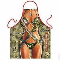 Подарочный фартук — military girl