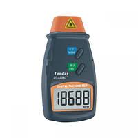 Лазерный бесконтактный тахометр Walcom DT-2234C+ (от 2,5 до 99999 об/мин) (MK254)