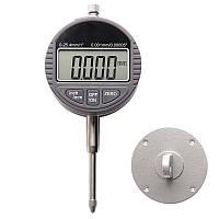 Цифровой индикатор часового типа ИЧЦ 0-25,4 мм (0,01 мм) с ушком (MK268)