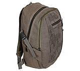 Рюкзак мужской текстильный 303362-2Khaki Хаки, фото 3