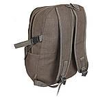 Рюкзак мужской текстильный 303362-2Khaki Хаки, фото 4