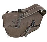 Рюкзак мужской текстильный 303362-2Khaki Хаки, фото 6