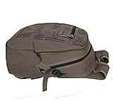 Рюкзак мужской текстильный 303362-2Khaki Хаки, фото 7