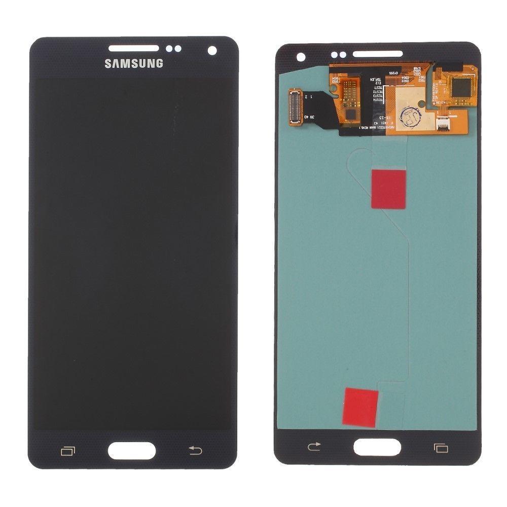 Дисплей (LCD) Samsung A500 Galaxy A5 OLED с тачскрином, черный