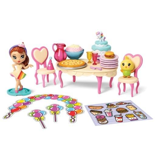Spin Master Party Popteenies Ava, Набор: «Подарок – сюрприз»
