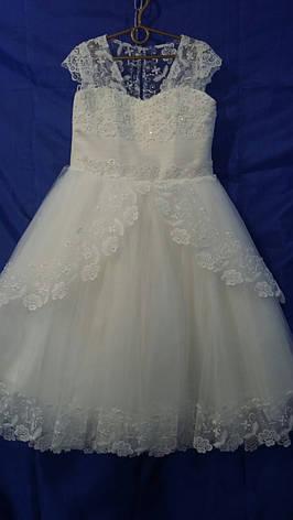 Платье нарядное для девочки р.6-7 лет опт, фото 2