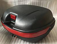 Кофр матовый черный  (на 2 шлема), фото 1