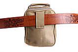Практичная сумка бежевого цвета 302786, фото 3