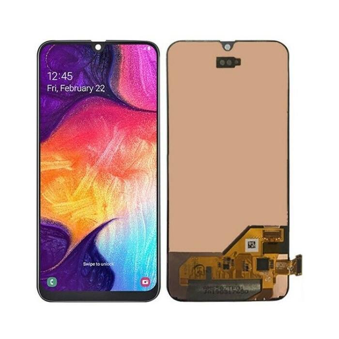 Дисплей (LCD) Samsung GH82-19672A A405 Galaxy A40 (2019) Amoled с тачскрином, чёрный (сервисный оригинал)