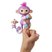 Интерактивная гламурная обезьянка Вайлет с мини-обезьянкой, фото 1