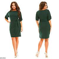 Женственное нарядное красивое платье батал арт 5616